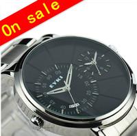 100% genuine EYKI brand watches personalized  men's calendar waterproof strip men hours fashion watch 8353 double movement!