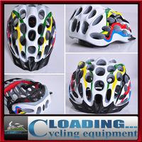 2013 new hot adult man woman 210g mtb road bicycle bike cycling helmet/41 hole white,red,blue,rainbow,green,orange