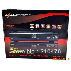 Az america s930a satellite receiver, South America decoders with N3 and twin tuners,with Free Account sks inside(China (Mainland))