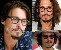 50pcs/lot free shipping Glasses frame vintage male black middle eyeglasses frame myopia female non-mainstream plain mirror