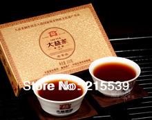 [GRANDNESS] 2012 yr 201 Pu Erh LaoChaTou Menghai Tea Factory Dayi Puer Tea Brick  250g Ripe Cooked Shu 100% Genuine Certified