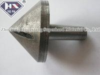 straight shank diamond countersink bit/glass chamfering tool   65mm