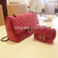 Free shipping 2014 Fall winter  cc New Fashion brand designer  women messenger bag ,purse and handbags sac femme