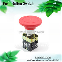 Hot Sale Emergency Stop Push Button Switch N/C XB2-BS542 Red Turn to Release