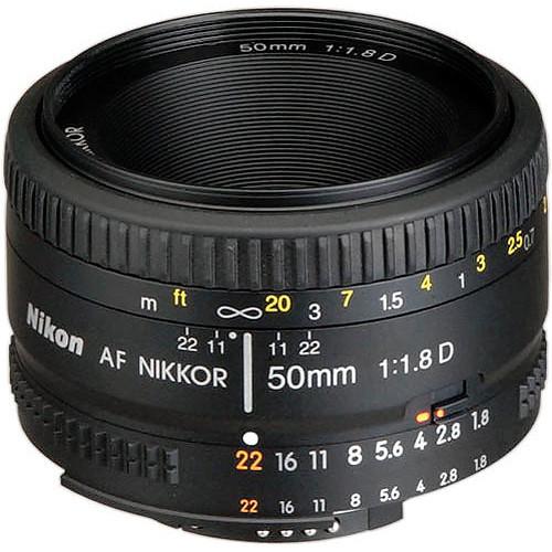 Nikon 50 1.8 D Lens lente Nikkor AF 50mm f/1.8D Lenses for Nikon D90 D7000 D7100 D600 D700 D800 D3 digital camera professional(China (Mainland))