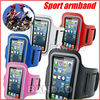 Colorful Gym Jogging Phone Arm Band Case holder cover For iphone 5  New Solf Belt Neoprene Waterproof  Running Sport Armband