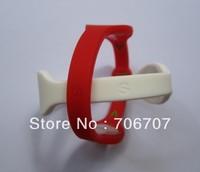 Power Wristband Silicon Bracelet energy Bracelet power bands 10 colours  5sizes  sports wristband in stock