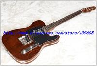 Wholesale - New Arrival Guitar Custom Shop Rosewood vintage RED 6 Strings Natural Wood Electric Guitar