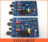2pcs QUAD 405 125W+125W power amplifier kit 2.0 audio power 2 channel AMP  board diy kit free shipping