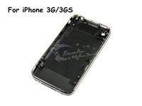 New Back Cover back Housing Case Door with Middle Frame for  3G 3GS Replacement WHITE/BLACK free shipping