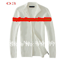 high quality male cardigan long sleeve sweater classical fashion sweater coat free shipping