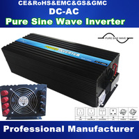 Reliable Quality Full Power 5000W 24V 48V Inverter Pure SIne Wave Peak Power 10000W  For  wind turbine and Solar  Power System