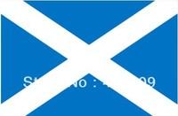 SCOTLAND SCOTTISH FLAG ST.ANDEW CROSS 150X90 cm 5ft x 3ft FULL SIZE free shipping wholesale
