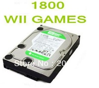 WD 2TB HDD WITH 1800 GAMES Optional HARD DRIVE FOR WII Homebrew Channel HACKED CONSOLE FREE DHL SHIPPING