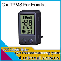 car TPMS for Honda ,car tyre pressure monitoring system,auto TPMS,internal sensors/external sensors for option