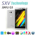 "4.5"" Dual Core JIAYU G3 Dual Sim mobile phone with Android 4.0 MTK6577 1Ghz 1GB/4GB Dual Camera GPS Wifi Bluetooth IPS Screen"