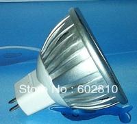 12V 3W MR16/GU5.3 white/warm white led light lamp bulb spot light spotlight free shipping