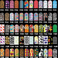 50pcs/lot FREE SHIPPING + T series 120 styles nail art sticker water decals,Nail foil sticker for wholesale & Retails