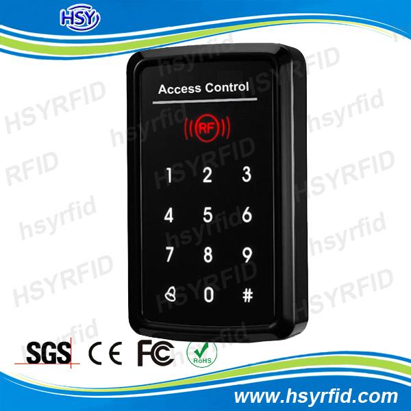 De proximité rfid khz carte d'identité 125 entree de serrure de porte écran tactile unique porte d'accès autonome contrôleur système peut se connecter un lecteur