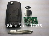 Chery Tiggo 2 button folding remote key control 315mhz