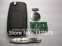 Chery Tiggo 2 button folding remote key control 315mhz