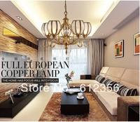Copper soldering light copper ceiling american lighting lamps living room lights nd8331-5