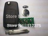 Chery A3  2 button flip remote key control 433mhz