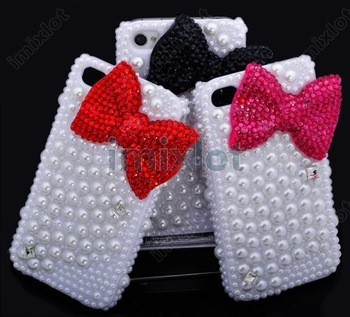 High Quality Cell Phone Case 3D Bling Phone Accessory Cover For Phone 4 Luxury Cell Phone Cases