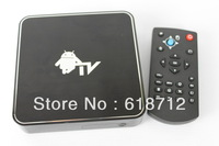 Free shipping Cortex A8 1.2GHz (CPU+GPU)WiFi RJ45 Ethernet HDMI Android 4.0 Google TV Box Internet Player MKV AVI RMVB
