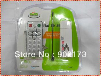 HOT! Newest FM+DAB USB DVB-T RTL2832U+FC0013B (E4000) Digital TV Stick support SDR (E4000L)