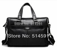 NEW Brand 2014 Men Bag Male Handbags Genuine Leather Shoulder Business / Laptop Bags Briefcase Leather Messenger Bags Portfolio