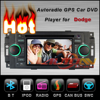 In Dash Car DVD Player For Dodge RAM Durango Dakota Charger Magnum Caliber With GPS Navigation Radio TV Bluetooth