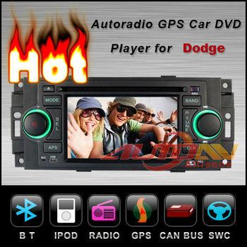 In Dash Car DVD Player For Dodge RAM Durango Dakota Charger Magnum Caliber With GPS Navigation Radio TV Bluetooth