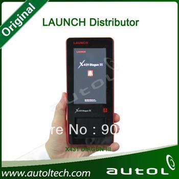 [Authorized Distributor] 100% Original Launch X431 Diagun III Full Set,X-431 Diagun3 Launch