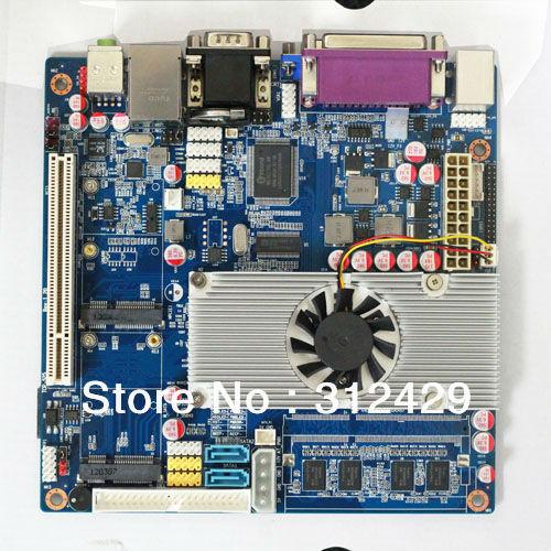 Atom D525 dual core 1.80GHz mini motherboard with mSATA/3G SIM card(China (Mainland))