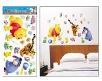 FREE SHIPPING Cheap Cartoon Animal PVC Wall Sticker ,Wall Decal ,Wallpaper, Room Sticker, House Sticker winne home decoration