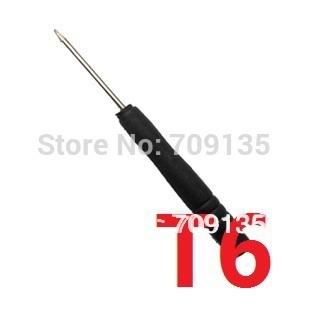 Free shipping 100pcs/lot black handle Torx Screwdriver T6 repair screw driver for mobile phone Samsung Nokia Motorola