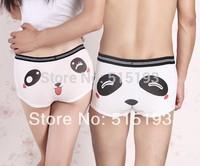 Couple lover cute Cartoon Panda Sexy Underwear for Men Women  Lingerie character Boxers Funny Panties Shorts 614