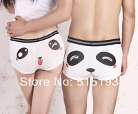 Couple lover cute Cartoon Panda Sexy Underwear for Men Women  Lingerie character Boxers Briefs Funny Panties Shorts 614