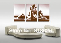 3 Panels Modern Living Room Cuba Canvas Painting Decorative Wall Picture , Free Shipping pt51