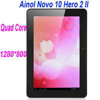 "Original Quad Core Ainol Novo10 Tablet PC Hero II Android 4.1  hero 2 10 "" A9 1.5GHz wifi free shipping"