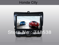 Car DVD GPS For HONDA CITY Car Navigation Bluetooth Radio IPOD Touch Screen Video Audio Player +Free Map free shipping