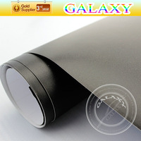Matte Black Car Vinyl Wrap Film Sticker With Air Free Bubbles 1.52x30m High Quality Free Shipping By FedEX