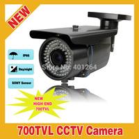 "72 IR Outdoor 700TVL 1/3"" SONY Effio CCD Waterproof Security CCTV Camera Varifocal 2.8-12mm Lens"