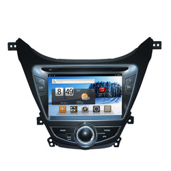 New 8'' Android Car DVD GPS Autoradio Headunit for Hyundai Elantra 2011-2013 WIFI 3G 1GHZ CPU 512MB RAM(China (Mainland))