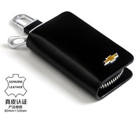 Free shipping! Chevrolet leather car key holder, key chain, Auto key wallet  for all kinds car style
