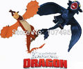 2pcs How to Train Your Dragon Toothless Night Fury Firedragon nightmare Plush Toy Stuffed  Dolls Free Shipping