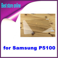 10 Pieces Free Shipping Clear Touch Screen Protector for Samsung Galaxy Tab 2 10.1 P5100