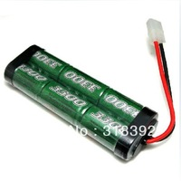 Free shipping big Capacity ACE POWER 7.2V 7.4 V3300MAH 6S 25C Rechargeable Ni-MH  battery 1/10 RC cars and RC boats  Batter gift