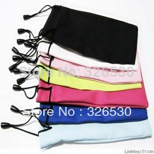 Free shipping-Waterproof cloth glasses bag mobile phone bag jewelry bag multi-purpose hang bag